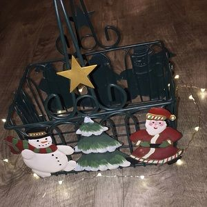 🎄Christmas Metal Basket☃️